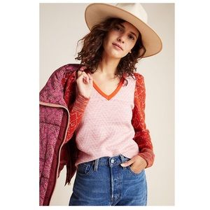 Anthro Cherie Puff-Sleeve Sweater | NWOT | XS